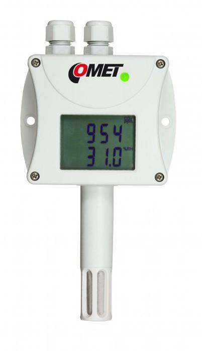 Преобразователи температуры, влажности и концентрации CO2 с выходами RS232 и RS485 — Датчики T6340 и T6440