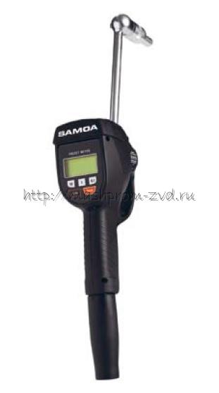 Пистолет SAMOA арт. 365300 для масла с электронным счетчиком с предустановкой