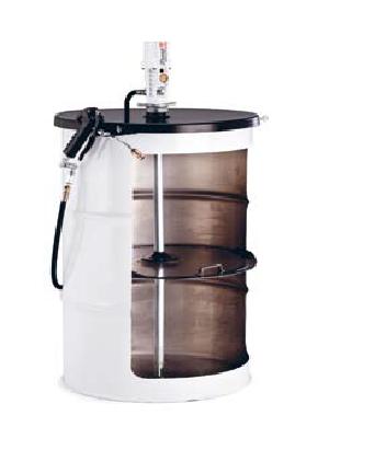 Пневматический солидолонагнетатель SAMOA арт. 428262 с насосом PM 3 для бочек 185 кг