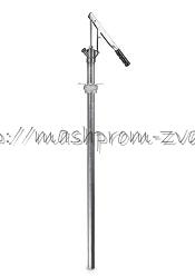 Ручной насос SAMOA арт.306100 среднего давления для 60 л бочек, всасывающая трубка 760 мм