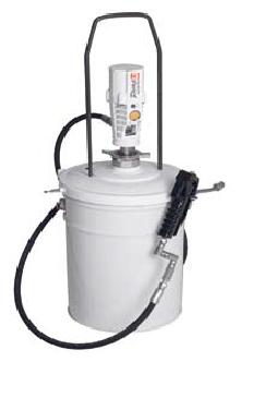 Пневматический солидолонагнетатель SAMOA арт. 424172 с насосом PM3 для ведер 20 кг