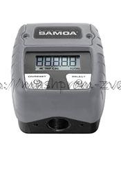 Электронный счетчик SAMOA арт. 366010 для adblue/антифриза С30, 1-50 л/мин, 30 бар
