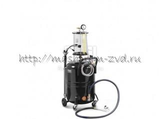 Мобильная установка PIUSI арт. F00215A40 для откачки отработанного масла 80 л, с предкамерой. Vacu 80