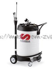Мобильная установка SAMOA арт. 372600 для откачки отработанного масла, 100 л