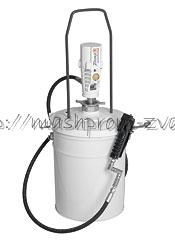 Пневматический солидолонагнетатель SAMOA арт. 424172.710 с насосом PM3 для ведер 20 кг