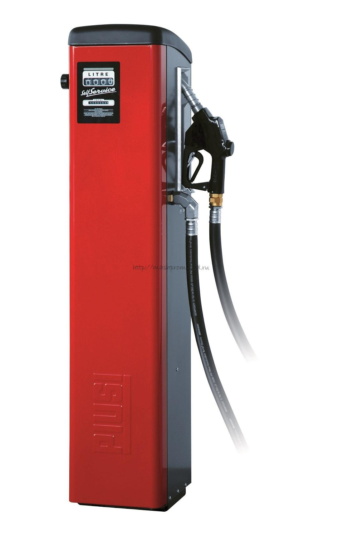 Self Service 70 K44 арт. F0073701B - Топливораздаточная колонка для ДТ: мех. счетчик, авт. пист., фильтр, 70 л/мин