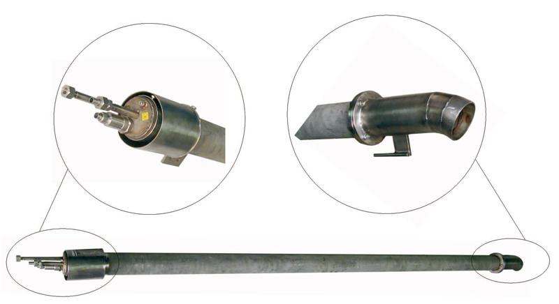 Горелки запальные газовые для розжига факельных систем ЭКВ-ТВ-ФН1