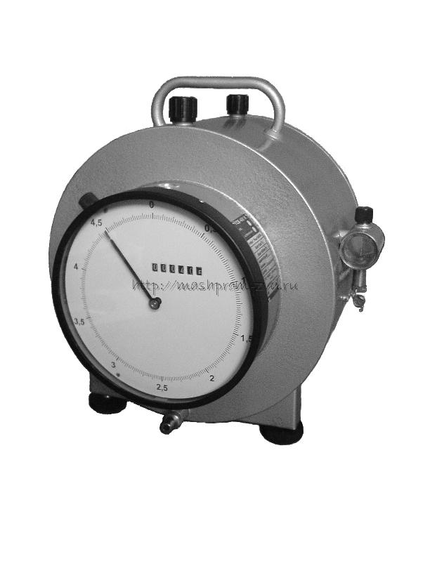 Счётчик газа барабанный с жидкостным затвором ГСБ-400М
