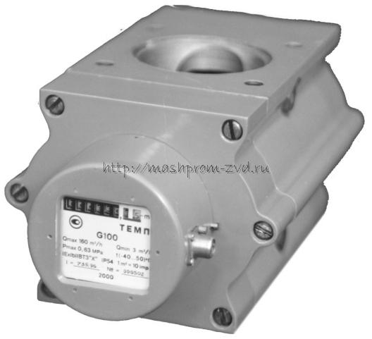 Счетчики газа ротационные ТЕМП