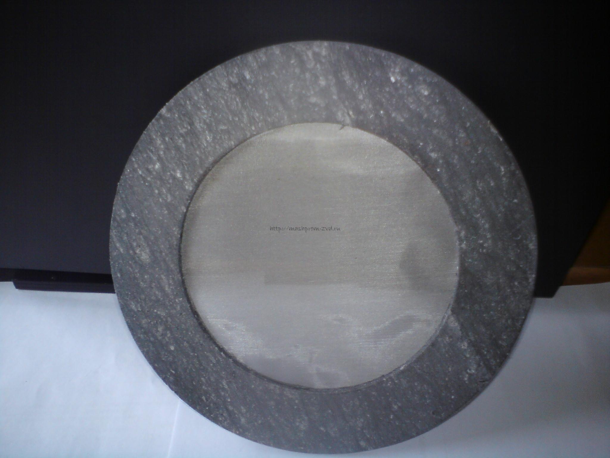 Паранитовая прокладка с фильтром ду100 для газа