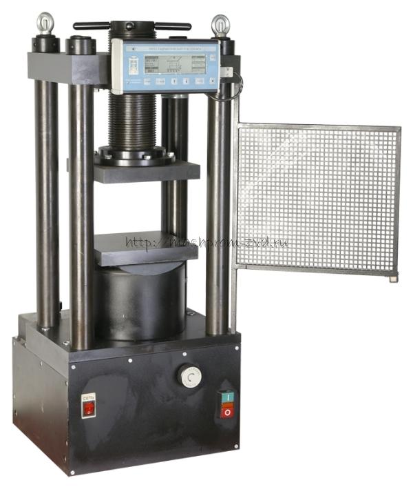 Испытательный гидравлический пресс ПГМ-1000МГ4 на 1000 кН