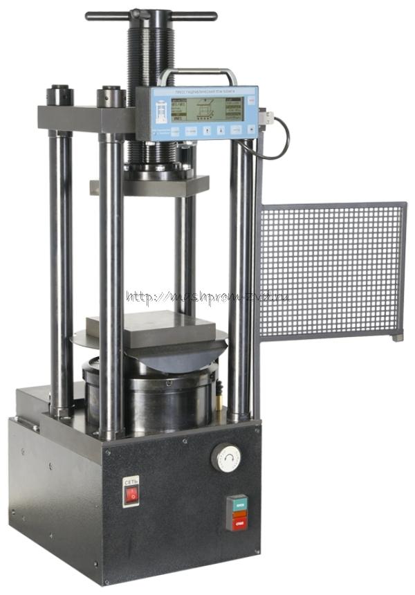 Испытательный гидравлический пресс ПГМ-500МГ4 на 500 кН