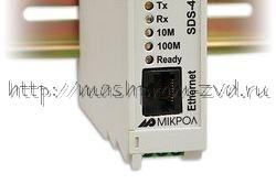 SDS-485 - Преобразователь интерфейсов (сервер последовательных интерфейсов) RS-485 в Ethernet