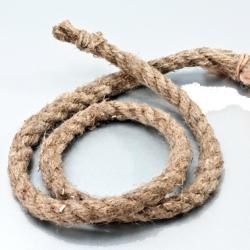 Веревка техническая из короткого льнопенькового волокна