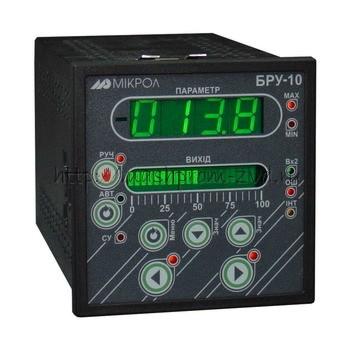 Блок ручного управления, задания, индикации БРУ-10