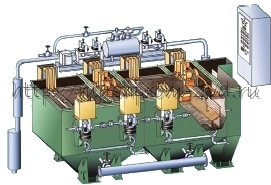 Машина отсадочная с подвижным решетом ВХП-8,0х2-М (ОМПР-8)