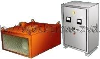 Железоотделитель электромагнитный подвесной без автоматической разгрузки типа ЗНЕм