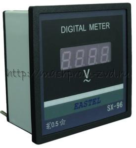 Цифровой вольтметр SX96 0~500В