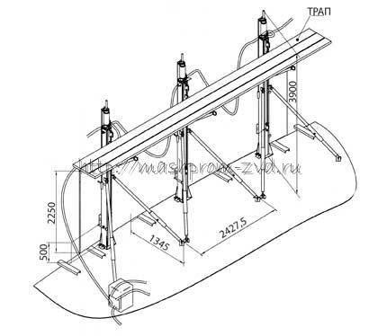 Система подъёма объектов строительства СП-2000