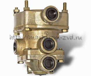 Клапан управления тормозами прицепа с 2-х проводным приводом 100-3522010