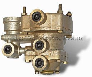 Клапан управления тормозами прицепа с двухпроводным приводом с клапаном обрыва 11.3522008