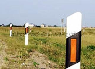 Столбик сигнальный дорожный