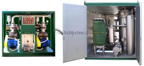 Установка для обработки трансформаторного масла типа УВМ-10