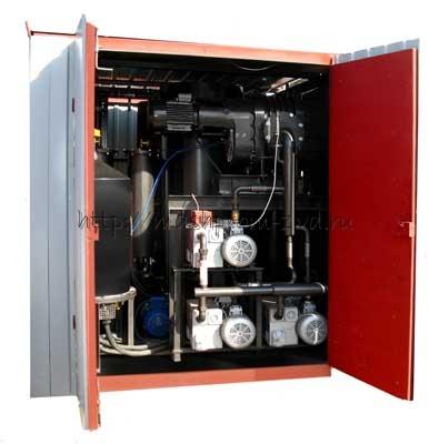 УВМ 10-10 - установка для обработки трансформаторного (турбинного, индустриального) масла