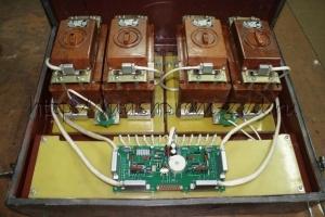 Комплектное устройство защиты для вагонов серии 81-717/714 и их модификаций типа ЯВ1001М1-44ДКУ2
