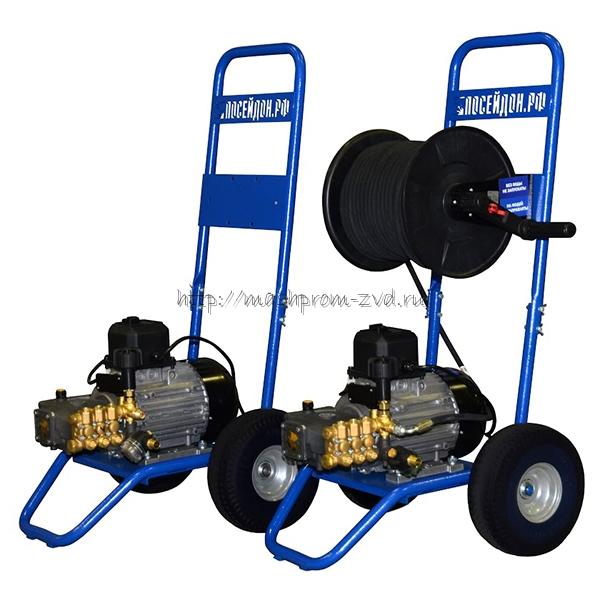 """Высоконапорные водоструйные аппараты с электрическими двигателями """"Посейдон ВНА-110-12"""""""