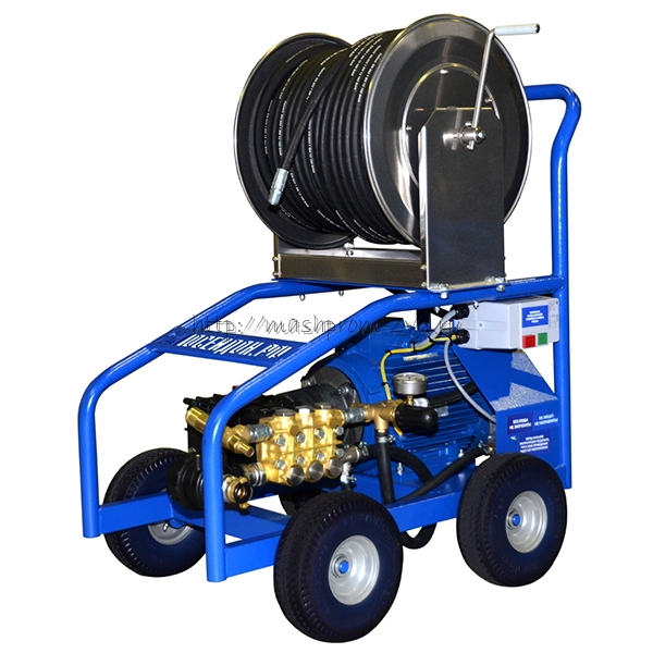 """Высоконапорные водоструйные аппараты для труб и поверхностей """"Посейдон ВНА-200-30"""""""