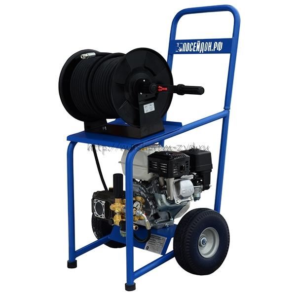 Аппарат высокого давления для прочистки труб с бензоприводом «Посейдон ВНА-Б-150-15»