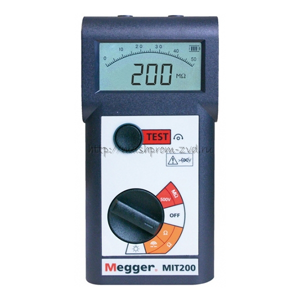 Мегаомметр MIT200