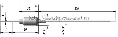 Кабельные преобразователи термоэлектрические ТХА 9608, ТХК 9608