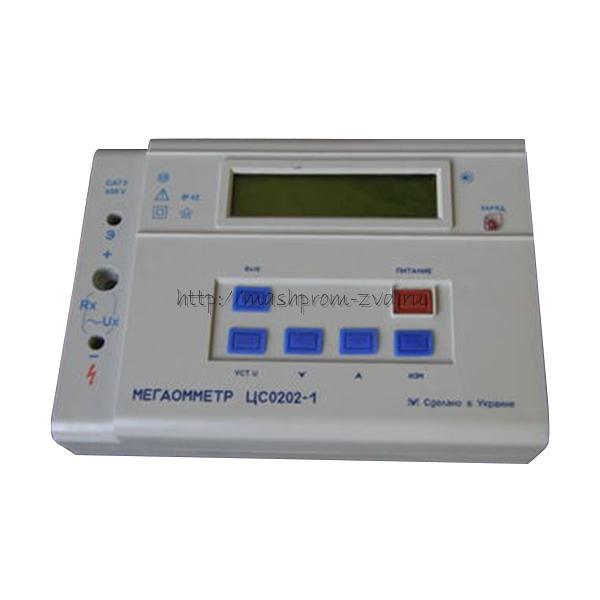 Многофункциональный цифровой мегаомметр ЦС0202-1