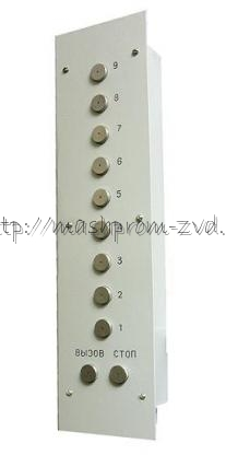 Посты приказов лифтовые ПП1, ПП2 (антивандальные кнопки)