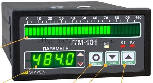 ИТМ-101 Одноканальный микропроцессорный индикатор
