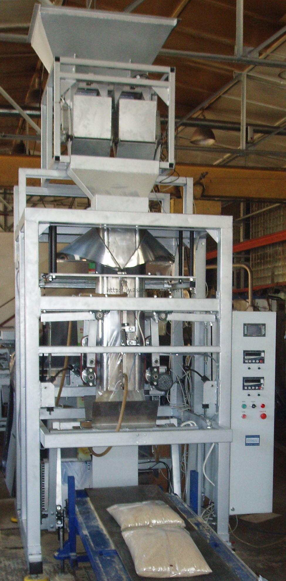 Автомат для упаковки комбикормов