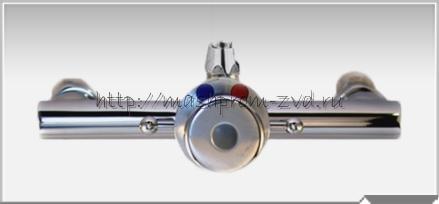 Смеситель душевой с кнопкой дозатором СП-08