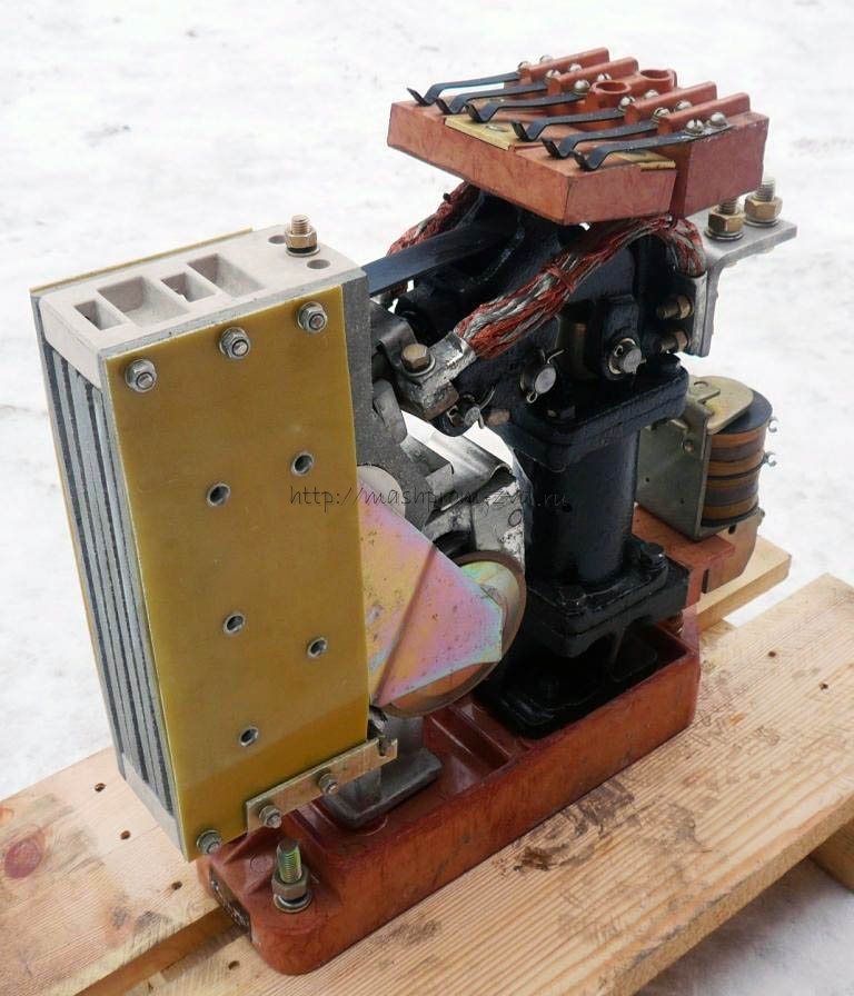 Электропневматический (поездной) контактор ПК-753