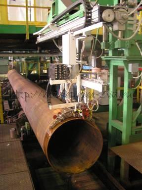 Система автоматизированного неразрушающего контроля концов труб САУЗК КТ-7