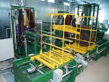 Установка магнитопорошкового контроля колес железнодорожного транспорта УМПК-1