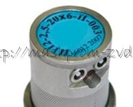 Преобразователи ультразвуковые с эластичным протектором для работы по грубым поверхностям П112-1,25-20х6-П-003, П112-2,5-20х6-П-003, П112-5-20х6-П-003
