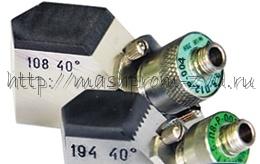 Специальные ультразвуковые контактные разборные преобразователи для контроля гибов труб П121-2,5-хх-dyy-Р-003, П121-5-хх-dyy-Р-003