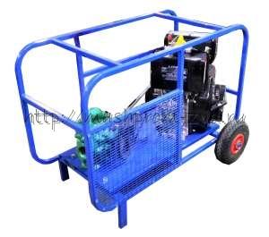 Мотопомпа для перекачивания масла, густых и вязких жидкостей с дизельным или бензиновым двигателем ТАНКЕР-Ш