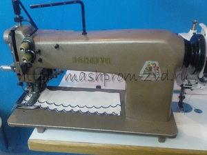 Двухигольная промышленная швейная машина BARATTO 158