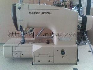 Двухигольная, трёхниточная плоскошовная промышленная машина MAUSER SPECIAL 51
