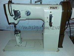 Колонковая одноигольная промышленная швейная машина PFAFF 1295