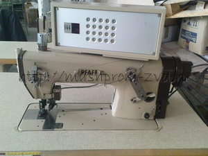 Одноигольная промышленная швейная машина PFAFF 3811