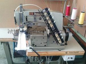 Четырёхигольная семиниточная промышленная швейная машина UNION SPECIAL 34700 KGZ